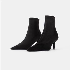 NWT ZARA BLUE COLLECTION ANKLE BOOTS/BOOTIES